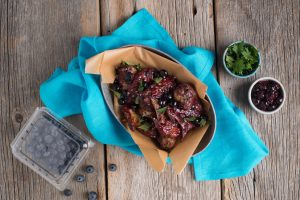 Blueberry Barbecue Chicken WIngs-029