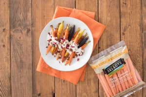 Honey Roasted Baby Carrots with Dried Cranberries and Hazelnuts-019
